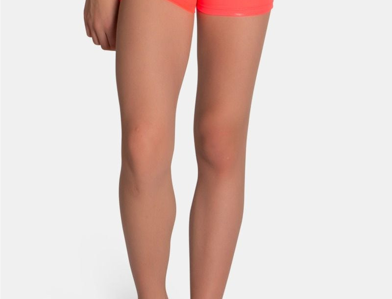 Neon Coral Mystique Short