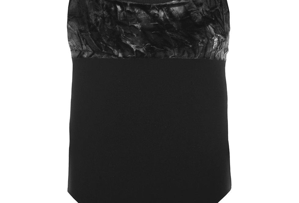 Tie Dye Velvet Detail Camisole