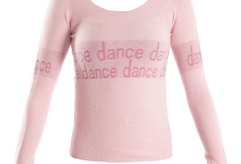 Knitted 'DANCE' Jumper