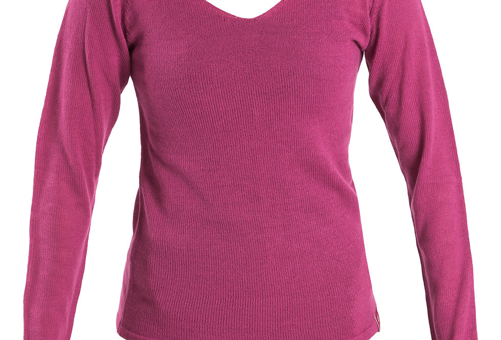 Long Knitted Warm Up Top