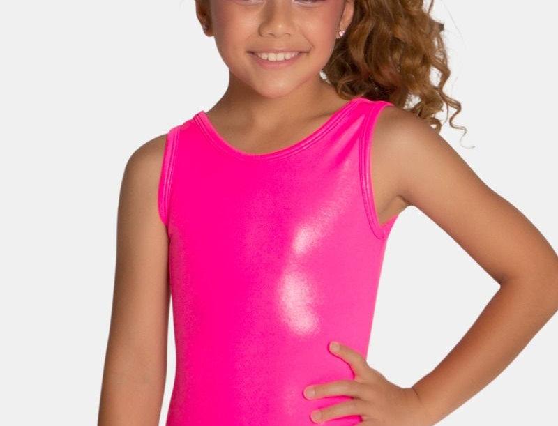 Neon Pink Mystique Leotard