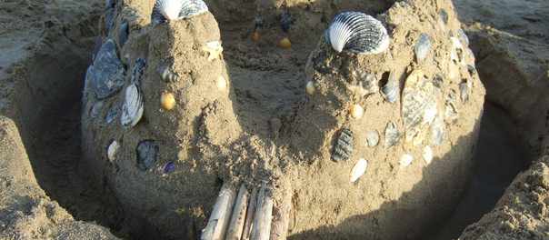 Sand Castles and Reclaimed Kickboards