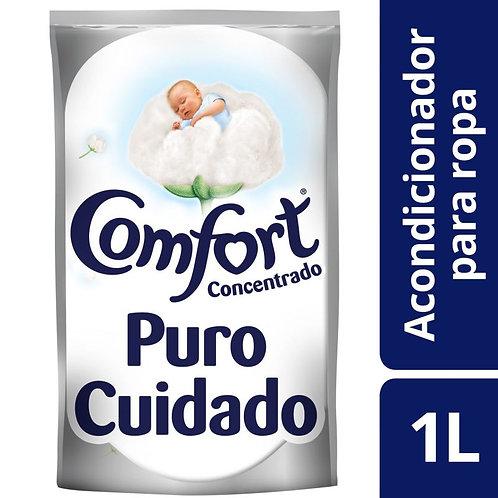 Suavizante Comfort Concentrado Puro Cuidado 1L