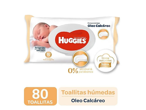 Huggies Oleo Calcareo x 80