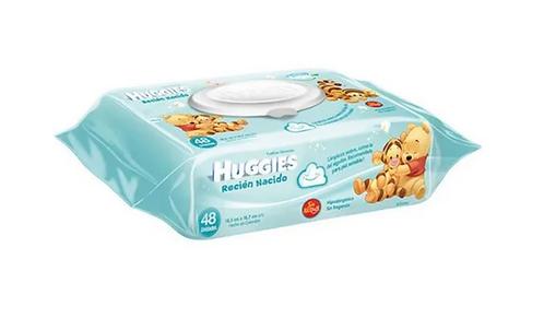 Huggies  toallas húmedas  Recién  nacido  48 unidades
