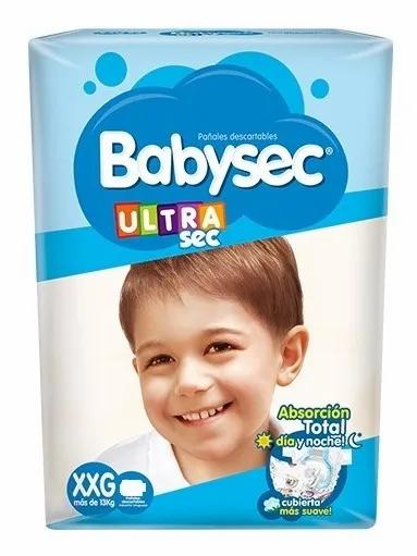 Babysec Ultra XXG  48 unidades.