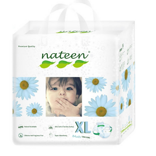 Nateen ( biodegradable) talle Xl  84 unidades