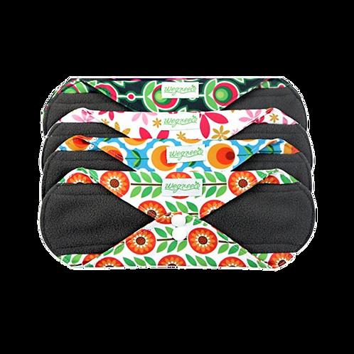 4 Apósito Post-parto / Incontinencia tela más bolsa impermeable