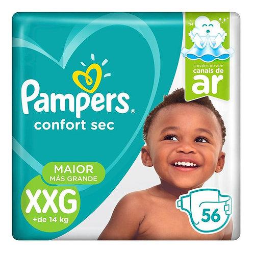 Pampers Comfort Sec Xxg x 56