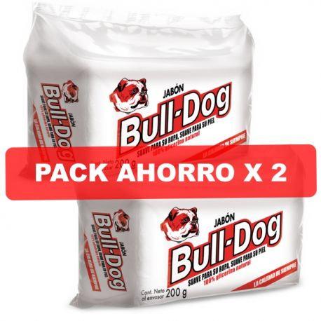 Jabon Bull Dog Pack x2