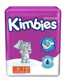 Kimbies G 40 unidades