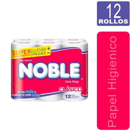 Papel Higienico NOBLE 12 Rollos 30M