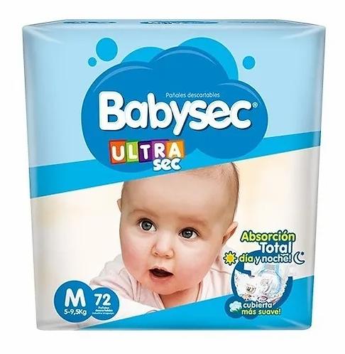 Babysec Ultra M  144 unidades.