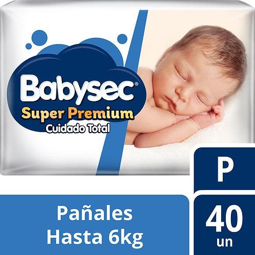 Babysec Super Premium P x 40 unidades