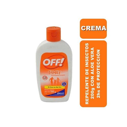 OFF Repelente en Crema 200g