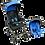 Thumbnail: coche+ silla de auto infanti