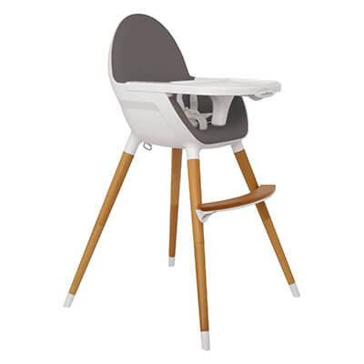 silla de comer estilo minimalista