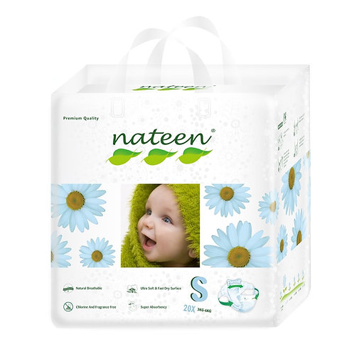 Nateen (biodegradable)  Talle S/p  20 unidades