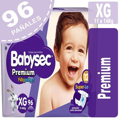 Babysec Premium XG 96 Pañales