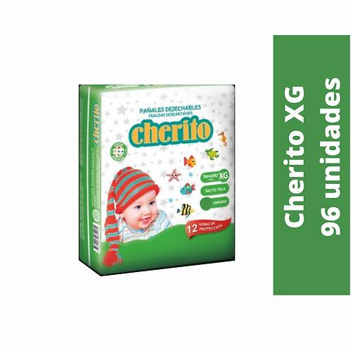 Pañal Cherito XG x 96