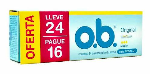 Tampones O.b Medio