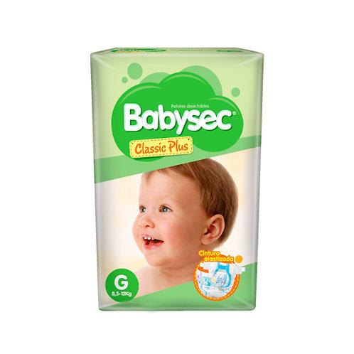 Babysec classic plus G x 80 unidades