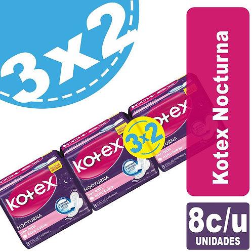 kotex nocturno 3x2