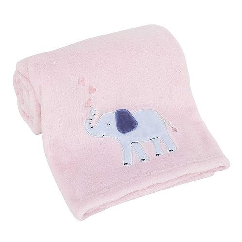 Manta de elefante bebé de Carter's, marfil, talla única
