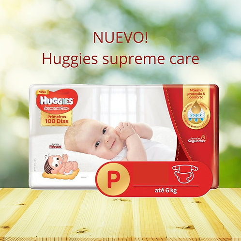 Nuevos Huggies Supreme Care talle P 50 unidades, Unisex