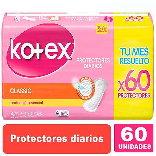 Kotex Protectores diarios x 60