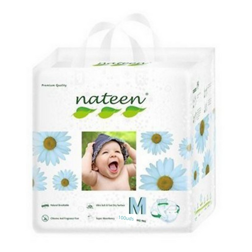 Nateen( biodegradable)talle M. 100 unidades