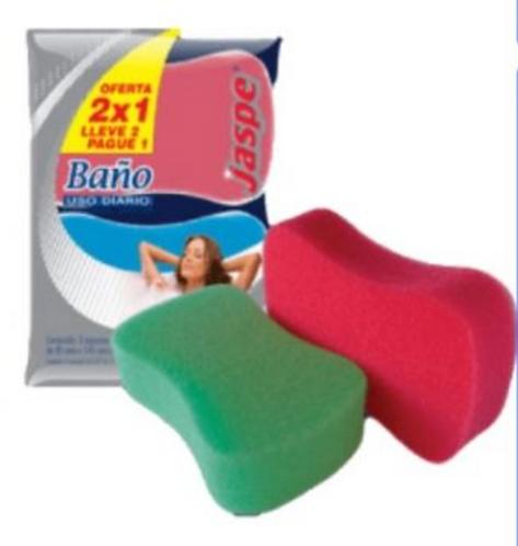 Esponja de Baño Jaspe 2x1