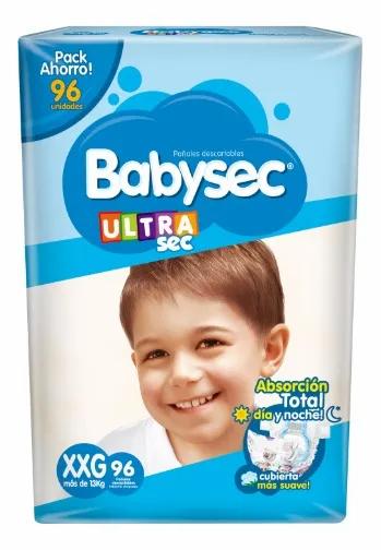 Babysec Ultra XXG  96 unidades.