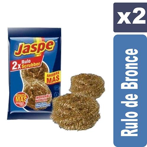 Esponja Jaspe Rulo de Bronce x2