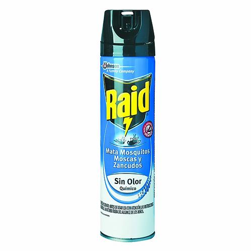 Insecticida Raid Sin Olor 360cm3