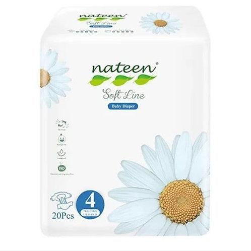 Nateen Soft Talle 4.  20 unidades