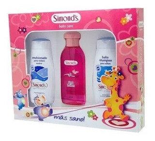 Simonds Colonia Pinck + Shampoo + Emulsion