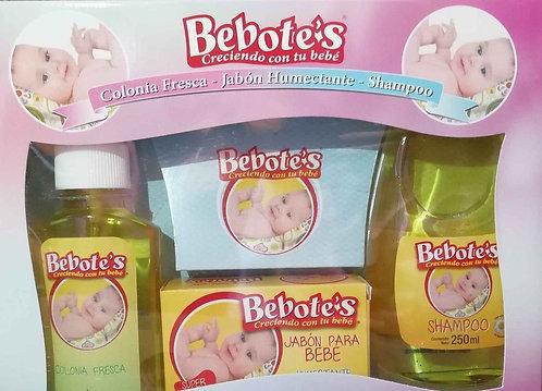 Pack Bebotes Jabon + Shampoo + Colonia