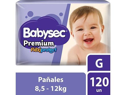 Babysec premium G 120 pañales