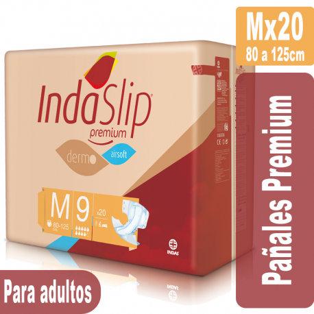 Indaslip Premium Mx20 Pañales absorción 9