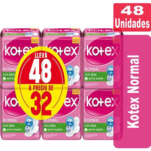 Kotex Normal x 48 unidades