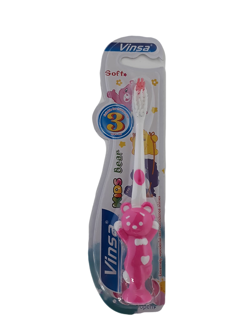 Cepillo de dientes forma de oso