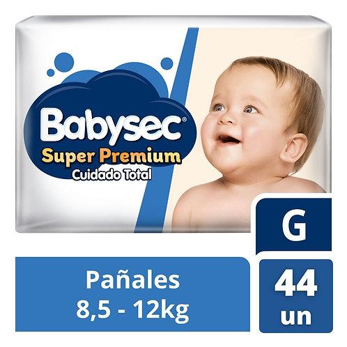Babysec Super Premium  G x 44 unidades