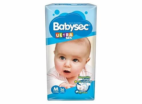 Babysec Ultra M  36 unidades.