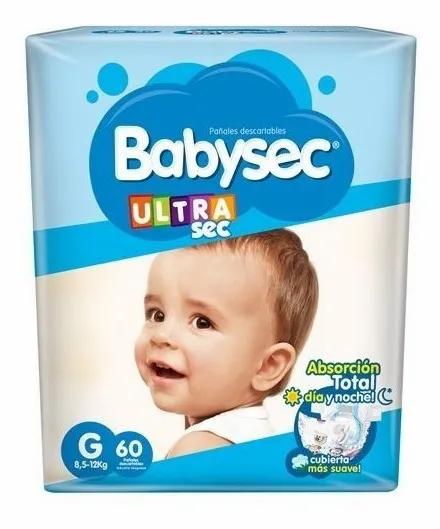 Babysec Ultra G x 60 unidades.