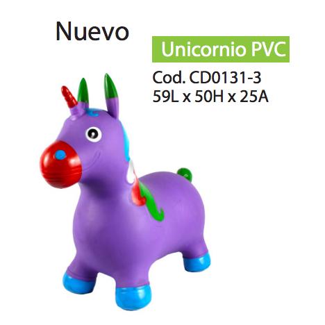Unicornio saltarín