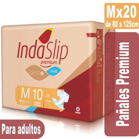 Indaslip Premium Mx20 Pañales absorción 10+