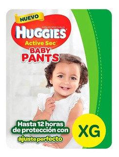 Huggies Active Sec Pant XG 24 unidades