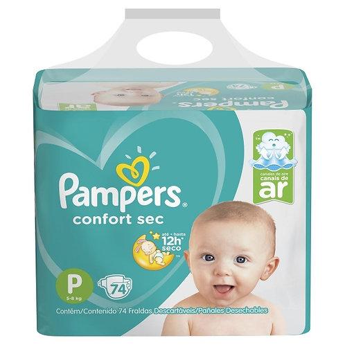 Pampers Comfort Sec P x 74