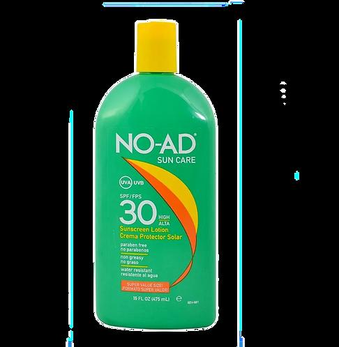 NO AD Protector Solar SPF 30 475ml